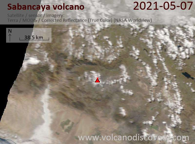Sabancaya Volcano Volcanic Ash Advisory: INTERMITTENT EMISSIONS OF VA