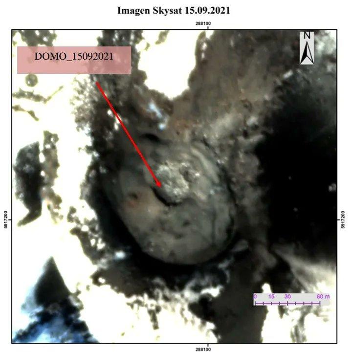 Nevados de Chillán volcano (Chile): new lava dome